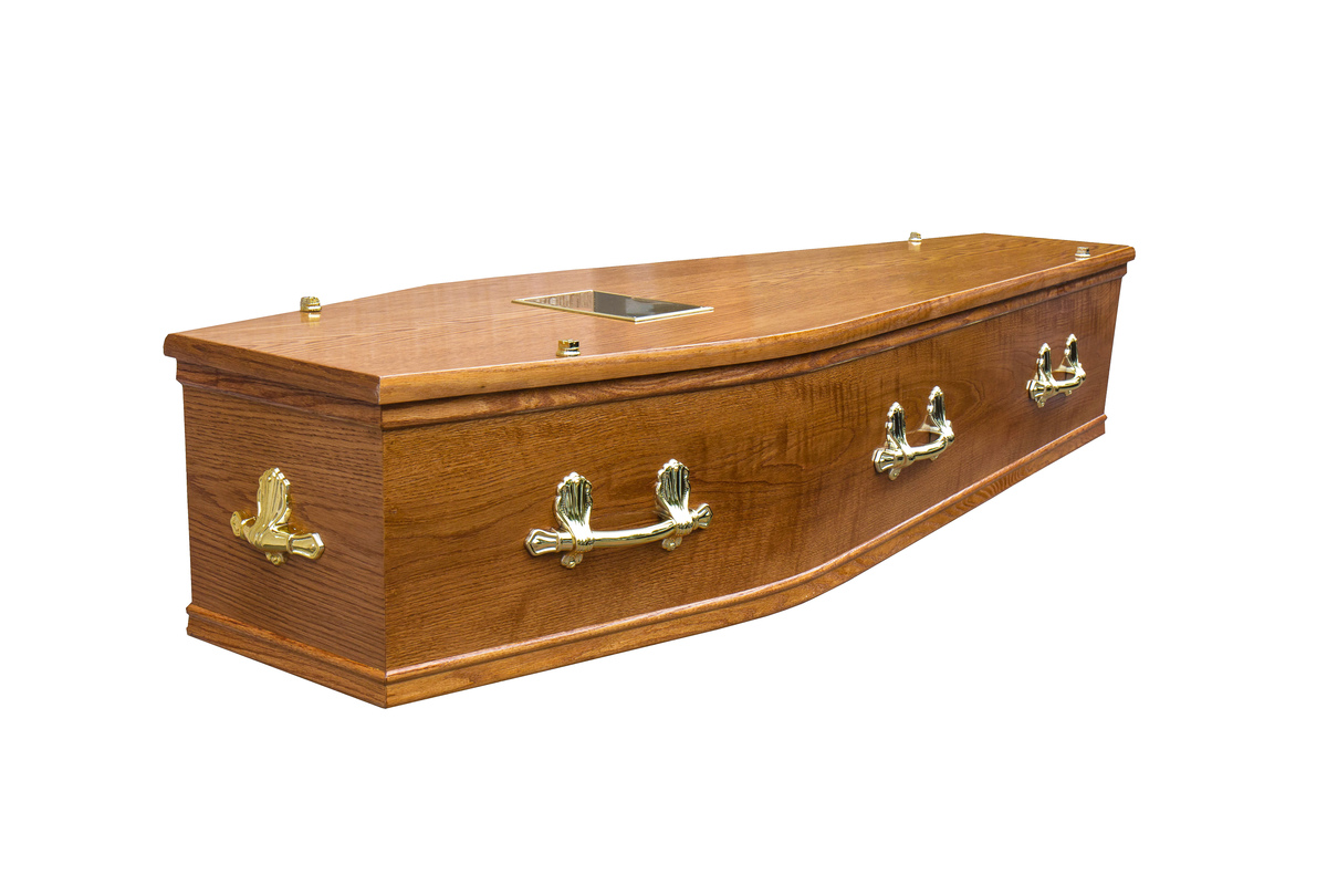 Honey Arran Cremation Coffin
