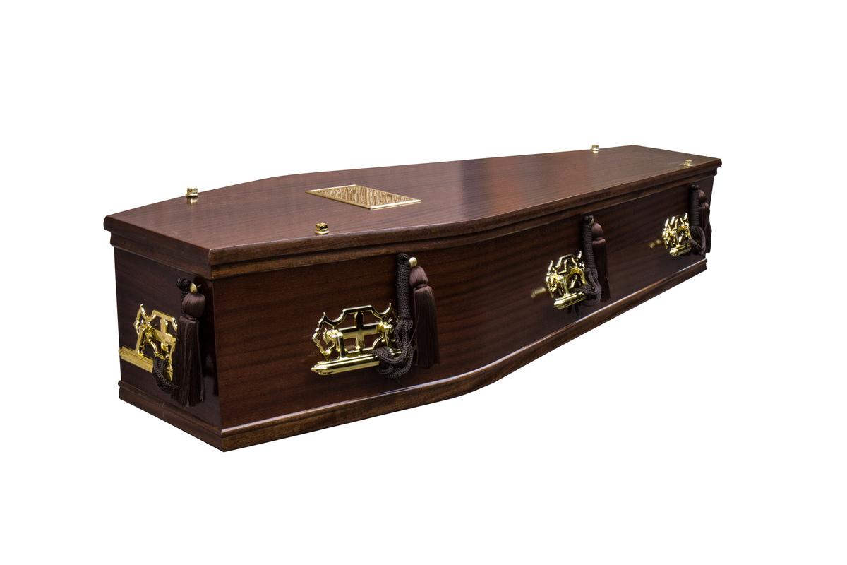 Mahogany Islay Burial Coffin