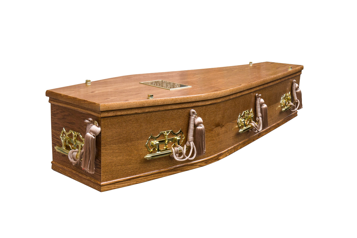 Honey Jura Burial Coffin
